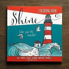 Adult Coloring Book Shine (2015, Merchandise, Other)