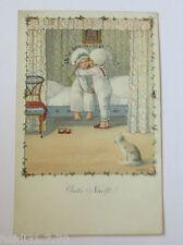 """""""Kinder, Bett, Kuss, Katze, Gute Nacht""""  1919, Pauli Ebner ♥ (30542)"""