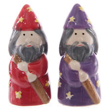 NEW MAGNETIC IZZY AND WHIZZY SALT AND PEPPER SET, GIFT IDEA, NOVEL