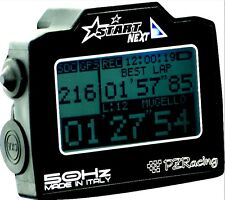 START NEXT CRONOMETRO PZRACING GPS + ACQUISIZIONE 50Hz TOUCH SCREEN MOTO AUTO