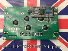 Serial LCD 2004 20x4 Module with IIC/I2C/TWI Adapter For Arduino, Raspberry Pi