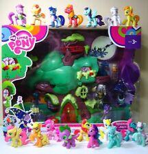 Mi Pequeño Pony Biblioteca De Roble Dorado Bolsa Ciega Plus 19 Paquete de Figuras Conjunto de Juego! mira!