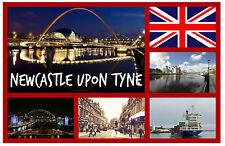 NEWCASTLE UPON TYNE - SOUVENIR NOVELTY FRIDGE MAGNET - BRAND NEW - GIFT
