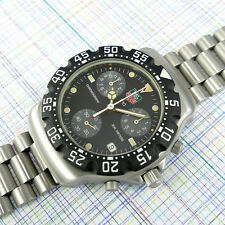 TAG Heuer Formula 1 Chronograph Black Dial 571.513T, New Bezel in TAG Box