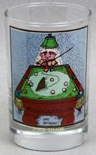 Arby's Gary Patterson POOL SHARK Billards Glass Tumbler 1982