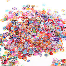 3000 3D Chic Cute Animal/Fruit/Flower Nail Art Fimo Cane Polymer Clay Decals DIY