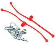 Du-Bro 2248 Body Klip Retainers w/Body Clips (Red)