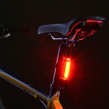 LED Bicycle Bike Cycling Front Rear Tail Light USB Rechargeable 3 Modes Red New