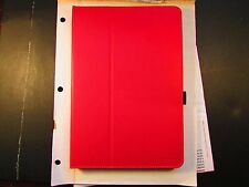 Moko Zj Nexus 9 Tablet Folio Stand Book Cover Case RED w/strap! LOT of 75