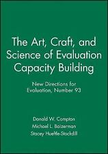The Art, Craft, and Science of Evaluation Capacity Building: New Directions for