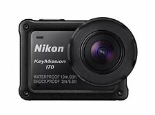 kb10 New Nikon waterproof action camera KeyMission 170 BK Black From Japan