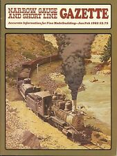 Narrow Gauge and Short Line Gazette : January February 1983 : Volume 8 Number 6
