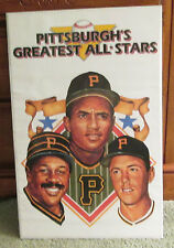 VINTAGE PITTSBURGH PIRATES POSTER CLEMENTE STARGELL MAZ RARE