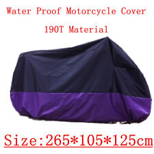 XXL Outdoor Motorcycle Cover for Harley Davidson Sportster 1200 Custom Touring
