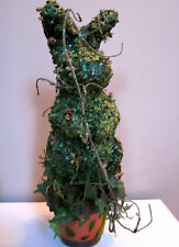 """Katherine's Collection~21"""" IVY-MOSS Rabbit-Bunny~Artificial Topiary Plant-Tree"""