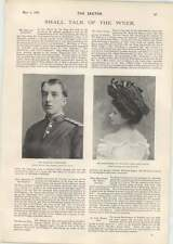 1901 The Marquis Of Headfort And Miss Rosie Boote Lady Mary Howard