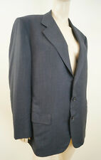 LUCIANO BARBERA COLLEZIONE SATORIALE Black & Grey Single Breasted Blazer Jacket