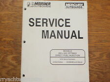 MERCURY OUTBOARD SERVICE MANUAL 200HP 225HP OPTIMAX 90-855348 ENGINE MOTOR EBAY