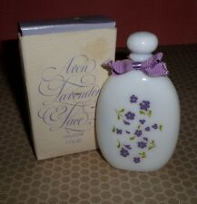 Avon Lavender Lace Cologne Milk Glass Bottle in BOX 1.7 fl. Oz.