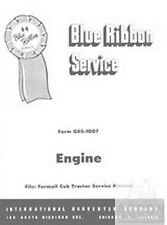 Farmall Cub Tractor Engine Rebuild Service Manual
