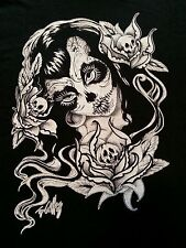 NWT Too Fast Men Young Man Small Day Dead Girl Punk Rockabilly Goth T-Shirt
