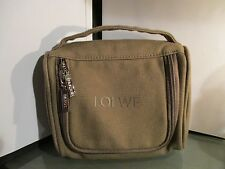 JAPAN AIRLINES by LOEWE cosmetic first class amenity kit travel make up bag JAL