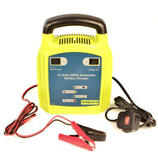 12v 12A Car Fully Automatic Fast & Trickle Lead Acid Gel Battery Charger