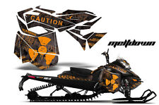 AMR Racing Sled Wrap Ski Doo Rev XM Snowmobile Graphics Kit 2013-2014 MLTDWN O