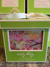 Oopsy Daisy Birds & Blossoms Pink Night Light BRAND NEW Baby Nursery Gift Decor