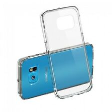Samsung Galaxy S6 Edge Clear Cover Doorzichtige Bescherm Hoes Case Slim Dun