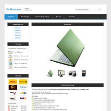 Professional eBay Auktionsvorlage | Vorlage | HTML Template | Blau