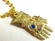 INFINITY GAUNTLET Thanos Glove Thor Artifact Avengers  GotG Pendant Necklace