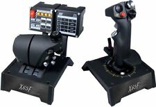 Saitek PRO Flight X-65F HOTAS Combat Control System for PC