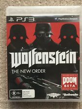 Wolfenstein The New Order (no Game Booklet)