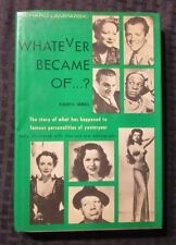 1974 WHATEVER BECAME OF...? by Richard Lamparski 3rd Crown HC/DJ FN/VG+ Photos