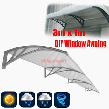 Awning For Windows & Doors 120 x 40 Polycarbonate (Clear Hollow Sheet) 6mm