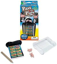 Pass the Pigs Classic Game Winning Moves Dice Kids Party Pig + Case