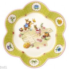 Villeroy & Boch SPRING DECORATION Medium Fluted Bowl:  Break Hopscotch