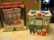 COCA COLA TOWN SQUARE BUILDING - TOWN BARBER SHOP - 1996  -  RETIRED
