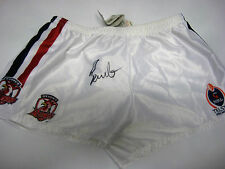 BRAITH ANASTA HAND SIGNED NRL SHORTS BRAND NEW UNFRAMED + PHOTO PROOF + C.O.A