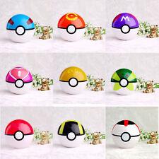 9PCS Pokemon pikachu Pokeball Lot Cosplay Pop-up Master Great Ultra GS poke BALL