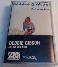 Out of the Blue by Debbie Gibson (Cassette, 1987, Atlantic (Label)) 78-17804