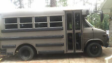 One of a kind school bus RV conversion zombie apocolypse bugout bus III%