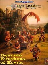 DWARVEN KINGDOMS OF KRYNN VF! 1086 Dragonlance Boxed Set Box Dungeons Dragons