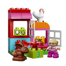 LEGO® DUPLO® 65 Piece All-in-One Pink Box of Fun Kids Building Playset | 10571