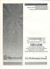 SHERWOOD - DD-1130 - Instructions Bedienungsanleitung - B2259