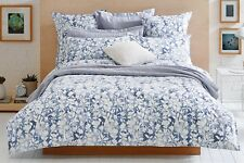 Pair of Sheridan Bonnell 300TC Cotton Standard Pillow Cases in Shadow RRP $69.95