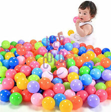 50x Soft Plastic Pit Ball Bright Color Toy ball pool diameter 5.5cm for Kids