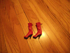 1/6 Phicen Doll Red Tall Boots for 1/6 Phicen Doll