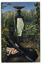 AK carte postale togo mission société Bremen jamsfeld Homme Femme Afrique COLONIE